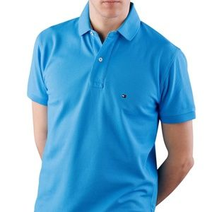 Tommy Hilfiger Mens Stretch Slim Fit Polo Shirt